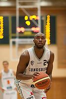 Basket<br /> 3. Oktober 2015<br /> BLNO<br /> Åpningshelg<br /> Haukelandshallen<br /> Ammerud - Kongsberg<br /> Brandon Boogs , Kongsberg<br /> Foto: Astrid M. Nordhaug