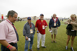 Buchmann Jacky (BEL), De Vos Ingmar (BEL)<br /> World Equestrian Games Jerez de la Fronteira 2002<br /> Photo © Hippo Foto - Dirk Caremans