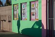 Image of a street scene in Loreto, Baja Peninsula, Baja California Sur by Randy Wells