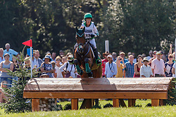 ENNIS Sarah (IRL), Horseware Woodcourt Garrison<br /> Luhmühlen - LONGINES FEI Eventing European Championships 2019<br /> Geländeritt CCI 4*<br /> Cross country CH-EU-CCI4*-L<br /> 31. August 2019<br /> © www.sportfotos-lafrentz.de/Stefan Lafrentz