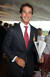 The HON.WILL ASTOR at the 4th day of the 2005 Glorious Goodwood horseracing festival at Goodwood Racecourse, West Sussex on 29th July 2005.    <br /><br />NON EXCLUSIVE - WORLD RIGHTS