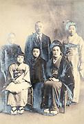 family group portrait Japan 1932