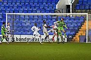 GOAL 3-2!! Forest Green's midfielder Scott Wagstaff scores during the EFL Sky Bet League 2 match between Tranmere Rovers and Forest Green Rovers at Prenton Park, Birkenhead, England on 19 January 2021.