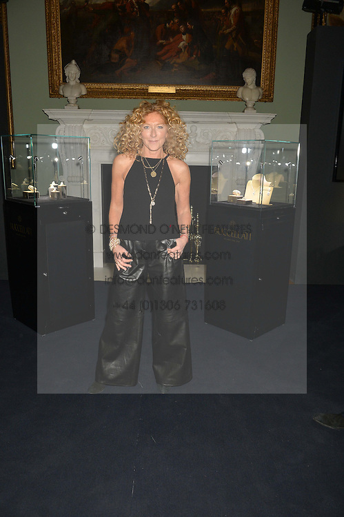 KELLY HOPPEN at an evenig of Jewellery & Photography to launch the Buccellati 'Opera Collection' held at Spencer House, London on 21st October 2015.