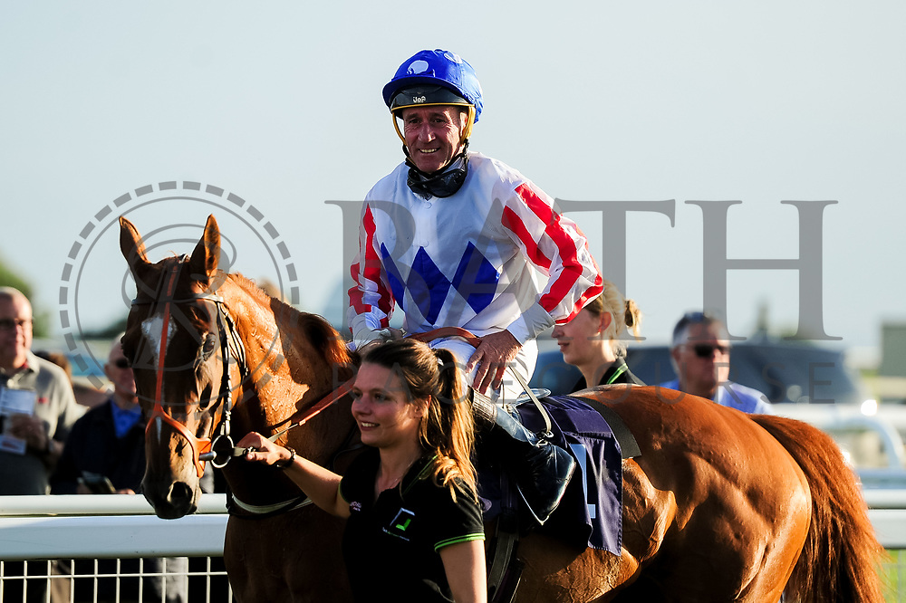 Secret Return  ridden by J F Egan and trained by Paul George in the Samworth Brothers Handicap (Class 4) race.  - Ryan Hiscott/JMP - 17/08/2019 - PR - Bath Racecourse - Bath, England - Race Meeting at Bath Racecourse
