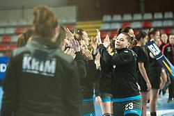 Vucko Hana of RK Krim Mercator during handball match between RK Krim Mercator and Brest Bretagne Handball in 2nd main round of Women's DELO EHF Champions League 2019/20, on February 2, 2020 in Kodeljevo, Ljubljana,  Slovenia. Photo Grega Valancic / Sportida