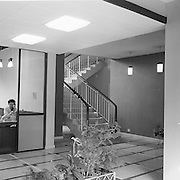 Industrial Yarns Bray..1963..23.08.1963..08.23.1963..23rd August 1963...Picture shows the reception area of the Industrial Yarns facility in Bray ,Co Wicklow.