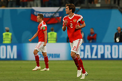 June 19, 2018 - SãO Petersburgo, Rússia - SÃO PETERSBURGO, MO - 19.06.2018: RUSSIA VS EGYPT - Fernandes during the match between Russia and Egypt valid for the 2018 World Cup held at the Zenit Arena in St. Petersburg, Russia. (Credit Image: © Ricardo Moreira/Fotoarena via ZUMA Press)