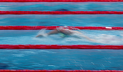 October 4, 2018 - Budapest, Hungary - Horton Mack of Australia competes in the Mens 400m Freestyle on day one of the FINA Swimming World Cup held at Duna Arena Swimming Stadium on Okt 04, 2018 in Budapest, Hungary. (Credit Image: © Robert Szaniszlo/NurPhoto/ZUMA Press)