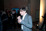 JEREMY DELLER, TOUR OF THE TATE ARCHIVE, Archive 40 Reception. 40th Anniversary of the Tate archive. Tate Britain. Millbank. London. 25 October 2010. -DO NOT ARCHIVE-© Copyright Photograph by Dafydd Jones. 248 Clapham Rd. London SW9 0PZ. Tel 0207 820 0771. www.dafjones.com.