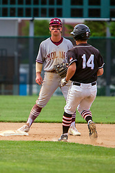 29 May 2019:   Moline Maroons at Normal Community West Wildcats first round IHSA IWU Sectional baseball at Jack Horenberger Fiels in Bloomington Il<br /> <br /> (Photo by Alan Look)