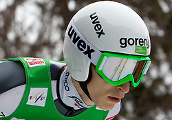 Jurij Tepes of Slovenia during Flying Hill Team at 3rd day of FIS Ski Jumping World Cup Finals Planica 2011, on March 19, 2011, Planica, Slovenia. (Photo by Vid Ponikvar / Sportida)