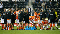Photo: Steve Bond.<br />Derby County v Blackpool. Carling Cup. 28/08/2007. Blackpool await extra time
