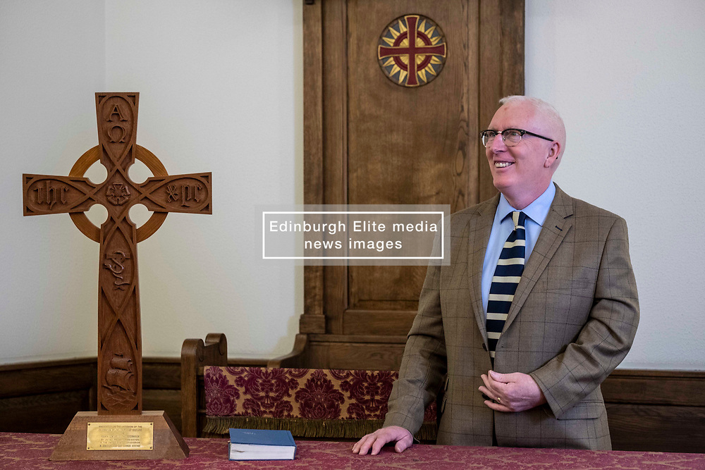 Pictured: Reverend Martin Fair<br /><br />Reverend Martin Fair has been announced today to be the Moderator-Designate of the General Assembly of the Church of Scotland (who will serve from May 2020-May 2021) <br /><br />Ger Harley   EEm 21 October 2019