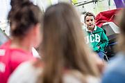 ©María Muiña : Sailingshots.es. Charla de las Campeonas Movistar con los niños de las distintas escuelas de Vela en el CEAR de Santander.