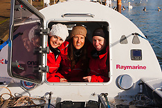 2015-01-24 All female Coxless Crew prepare for trans-Pacific rowing expedition