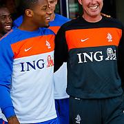NLD/Katwijk/20100809 - Training van het Nederlands elftal, Jermain Lens
