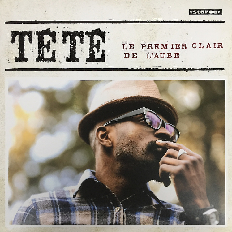 """Tété, """"Le Premier Clair de L'aube"""" album cover photo."""