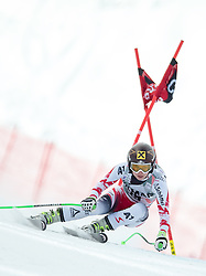 18-01-2015 AUT: Alpine Skiing World Cup, Cortina d Ampezzo<br /> Anna Fenninger of Austria in action during the ladies Downhill of the Cortina FIS Ski Alpine World Cup at the Olympia delle Tofane course in Cortina d Ampezzo, Italy<br /> <br /> ***NETHERLANDS ONLY***