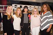 Melanie Barr, Founder of She Built It, Susan Bloomfield, Trina Turk, Tara Crimin, and Kristin DeLeo