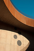 A visit to the Antinori Winery in Bargino, Italy. Incredible architecture by Marco Casamonti creates abstract shapes enhanced by natural light and shadow.