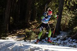 Polona Klemencic (SLO) during the Women 15 km Individual Competition at day 2 of IBU Biathlon World Cup 2019/20 Pokljuka, on January 23, 2020 in Rudno polje, Pokljuka, Pokljuka, Slovenia. Photo by Peter Podobnik / Sportida