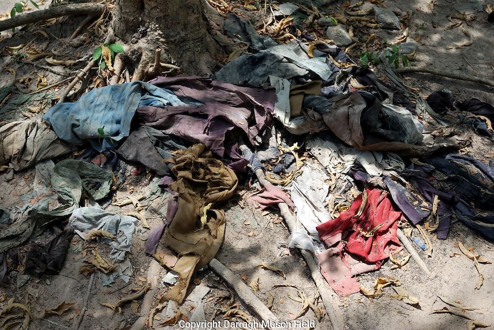 Victims of the Killing fields clothing