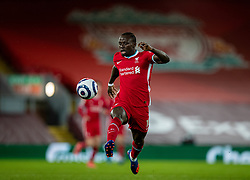 LIVERPOOL, ENGLAND - Thursday, March 4, 2021: Liverpool's Sadio Mané during the FA Premier League match between Liverpool FC and Chelsea FC at Anfield. Chelsea won 1-0 condemning Liverpool to their fifth consecutive home defeat for the first time in the club's history. (Pic by David Rawcliffe/Propaganda)