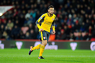 Francis Coquelin (34) of Arsenal during the Premier League match between Bournemouth and Arsenal at the Vitality Stadium, Bournemouth, England on 3 January 2017. Photo by Graham Hunt.