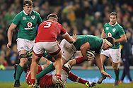 Billy Holland of Ireland during the 2016 Guinness Series  autumn international rugby match, Ireland v Canada at the Aviva Stadium in Dublin, Ireland on Saturday 12th November 2016.<br /> pic by  John Halas, Andrew Orchard sports photography.