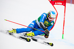 Manfred Moelgg of Italy competes during 1st run of Men's GiantSlalom race of FIS Alpine Ski World Cup 57th Vitranc Cup 2018, on March 3, 2018 in Kranjska Gora, Slovenia. Photo by Ziga Zupan / Sportida