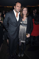 TOM FORD and NATALIE MASSENET Founder of Net-a-porter.com at the launch of the 4th Fashion Fringe - a search to recruit the hottest, undiscovered fashion desugn talent in the UK and Ireland, held at The Bar at The Dorchester, Park Lane, London on 13th March 2007.<br /><br />NON EXCLUSIVE - WORLD RIGHTS