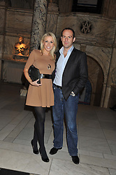 MARTIN LEWIS and LARA LEWINGTON at the 50th birthday party for Jonathan Shalit held at the V&A Museum, London on 17th April 2012.