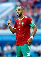 Mehdi Benatia (Morocco)<br /> Saint Petersburg 15-06-2018 Football FIFA World Cup Russia  2018 <br /> Morocco - Iran / Marocco - Iran <br /> Foto Matteo Ciambelli/Insidefoto