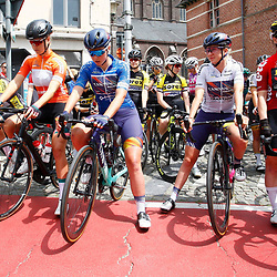 EEKLO (BEL) July 8 CYCLING: <br /> 1th Stage Baloise Belgium tour <br /> The leaders jerseys