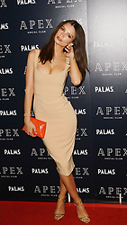 May 26, 2018 - Las Vegas, Nevada, United States of America - Emily Ratajkowski  attends the Grand Opening of APEX Social Club as part of Palms Casino Resort $620million  renovation on May 25, 2018  in Las Vegas, Nevada. (Credit Image: © Marcel Thomas via ZUMA Wire)