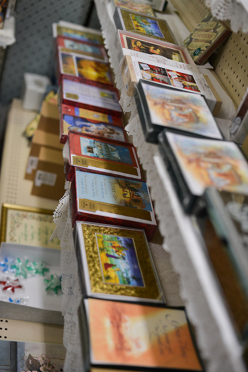 Greeting cards for sale at Grismer's Christian Gifts.
