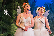 Dress rehearsal of Iolanthe performed by the National Gilbert & Sullivan Opera Company during the 25th International Gilbert & Sullivan Festival at the Royal Hall Harrogate, North Yorkshire, England on Saturday 18 August 2018 <br />