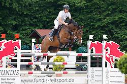 09, Youngster-Springprfg. Kl. M**,Ehlersdorf, Reitanlage Jörg Naeve, 29.06. - 01.07.2021, Dirk Ahlmann (GER), Gwen 50,,