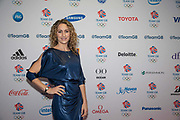 Former British skeleton racer Amy Williams MBE during Team GB's annual ball at Old Billingsgate on the 21st November 2019 in London in the United Kingdom.