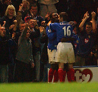 Fotball<br /> Premier League England 2004/2005<br /> 18.10.2004<br /> Foto: SBI/Digitalsport<br /> NORWAY ONLY<br /> <br /> Portsmouth v Tottenham Hotspur<br /> <br /> Portsmouth's Yakubu celebrates scoring his goal