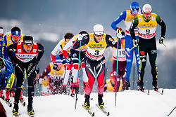January 6, 2018 - Val Di Fiemme, ITALY - 180106 Martin Johnsrud Sundby of Norway competes in men's 15km mass start classic technique during Tour de Ski on January 6, 2018 in Val di Fiemme..Photo: Jon Olav Nesvold / BILDBYRN / kod JE / 160123 (Credit Image: © Jon Olav Nesvold/Bildbyran via ZUMA Wire)
