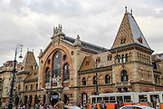Exterior of Nagycsarnok the great central market in Budapest