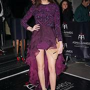 London,England,UK : 8th April 2016 : Anita Kaushik attend the The Asian Awards 2016 at Grosvenor House Hotel, Park Lane, London. Photo by See Li