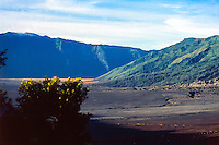 Java, East Java, Mount Bromo. The Sea of Sand.