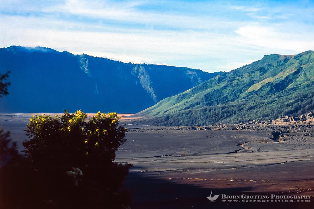 Java, East Java, Mount Bromo. The Sea of Sand.