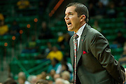 WACO, TX - DECEMBER 18: Mississippi Lady Rebels head coach Matt Insell looks on against the Baylor Bears on December 18 at the Ferrell Center in Waco, Texas.  (Photo by Cooper Neill) *** Local Caption *** Matt Insell