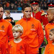 NLD/Amsterdam/20121114 - Vriendschappelijk duel Nederland - Duitsland, Rafael van der Vaart, Ibrahim Afellay, Nigel de Jong