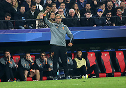 Liverpool CF´s coach Jürgen Kopp during the UEFA Champions League, Group E, Sevilla v Liverpool football match at Estadio Ramon Sanchez Pizjuan in Sevilla, Spain, November 21, 2017. Photo by Giuliano Bevilacqua/ABACAPRESS.COM