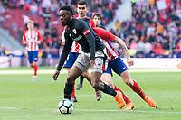 Athletic Club Inaki Williams during La Liga match between Atletico de Madrid and Athletic Club and Wanda Metropolitano in Madrid , Spain. February 18, 2018. (ALTERPHOTOS/Borja B.Hojas)